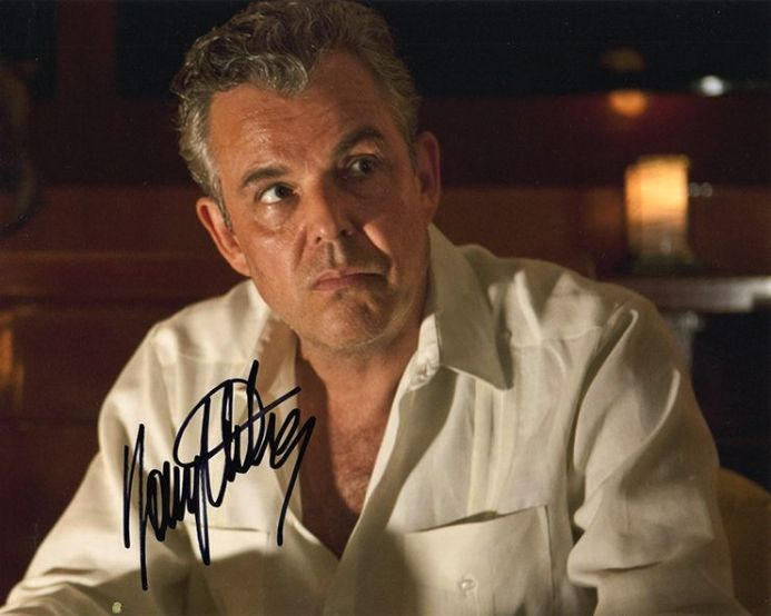 Danny Huston, signed 10x8 inch photo.